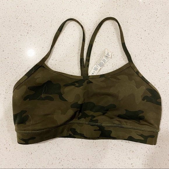 LULULEMON 🍋 camo Y sports bra